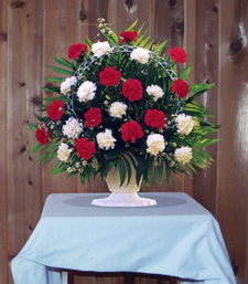 Flower  Funeral on Funeral   Sympathy Flowers In Lapeer